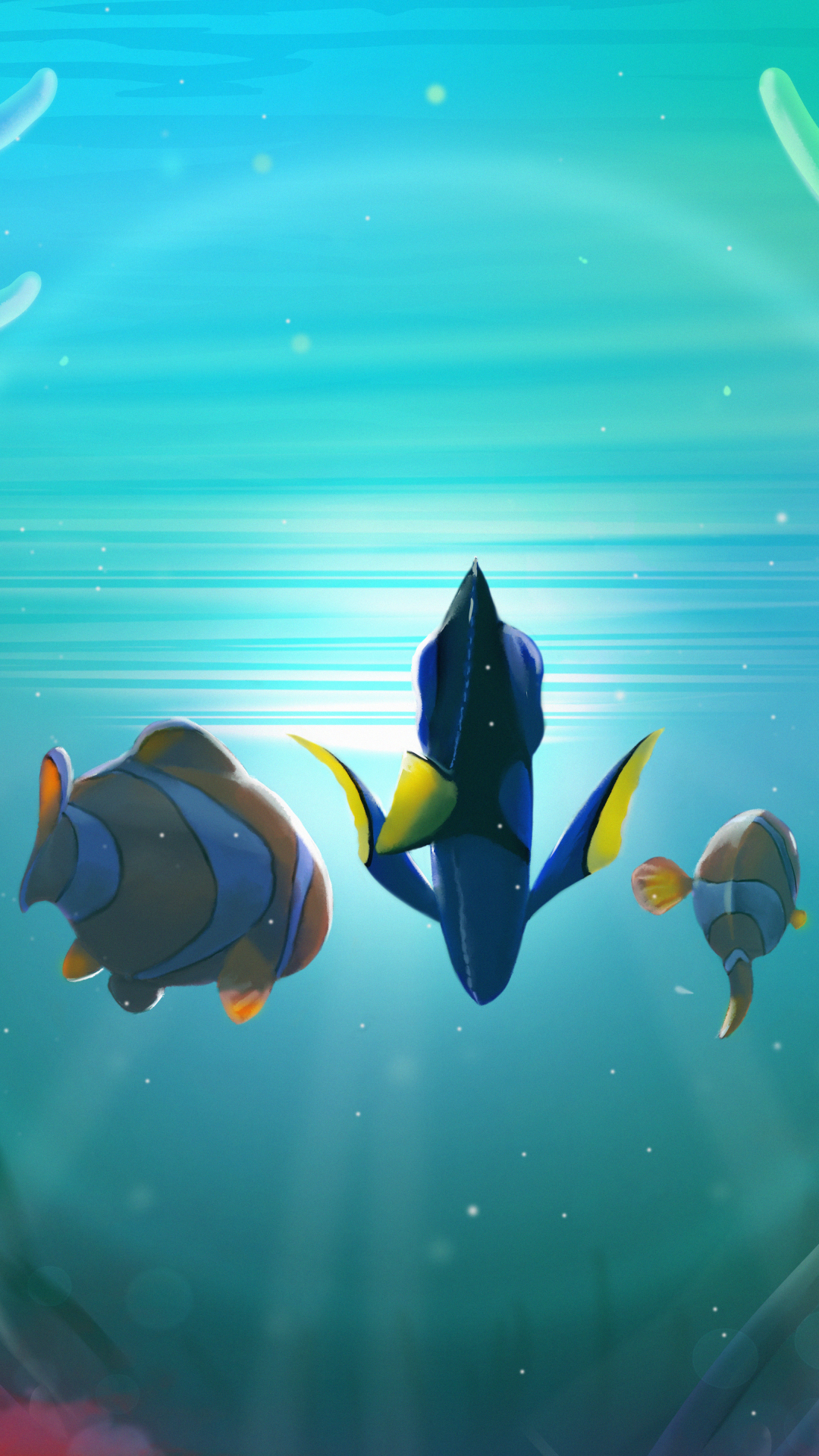 Movie Finding Dory 1080x1920 Mobile Wallpaper