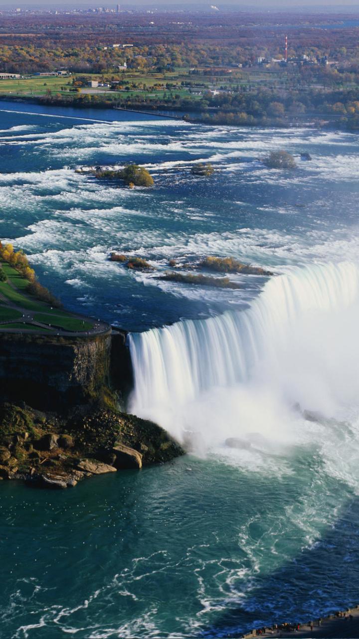 Earthniagara Falls 720x1280 Wallpaper Id 654154 Mobile