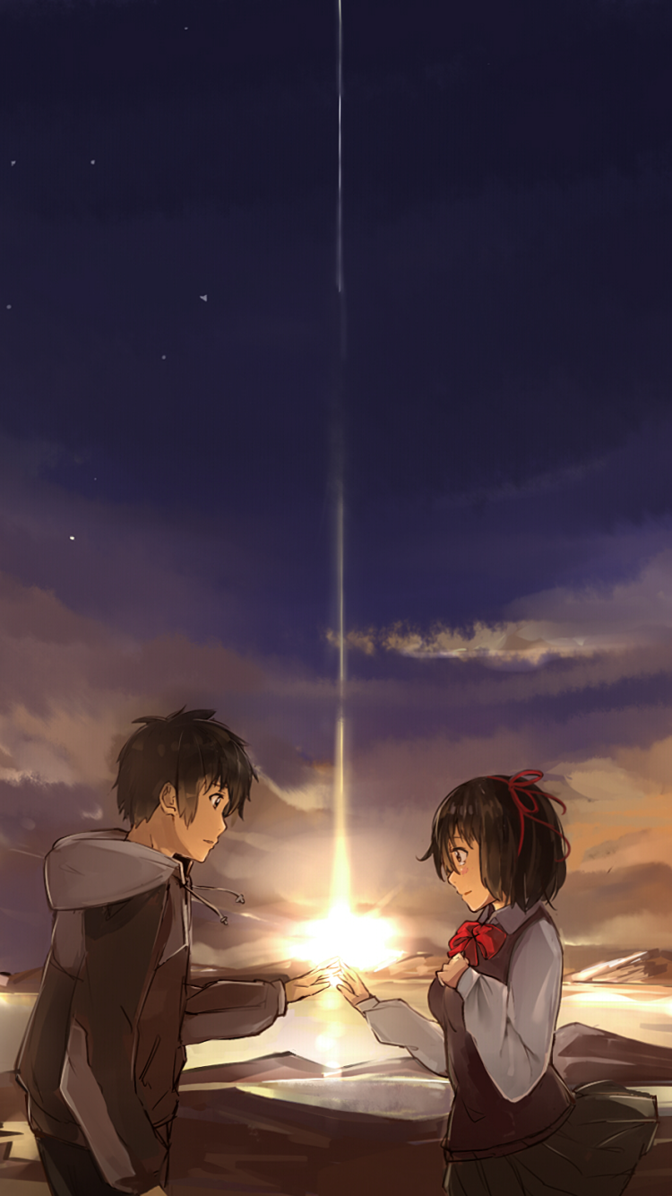Anime Your Name 750x1334 Wallpaper Id 654610 Mobile Abyss