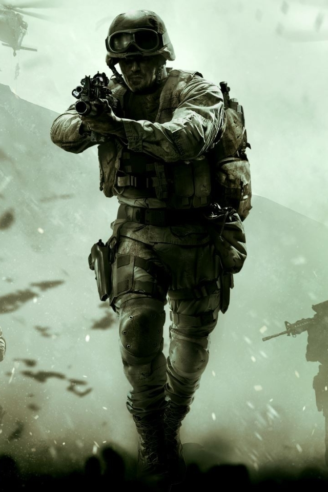Video Game Call Of Duty Modern Warfare Remastered 640x960