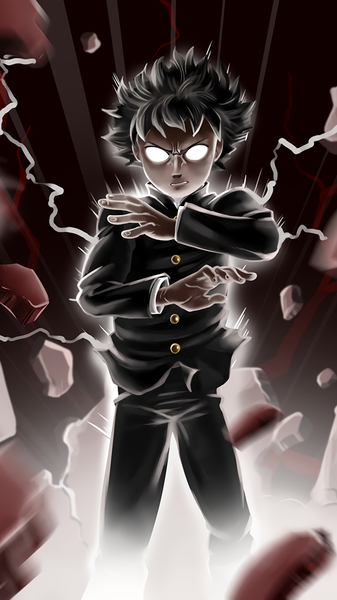 14 Mob Psycho 100 Apple Iphone 6 750x1334 Wallpapers Mobile Abyss