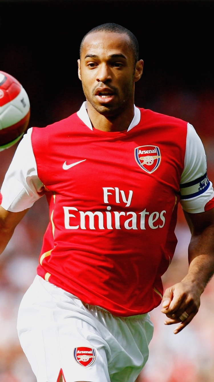iPhone 7 Sports Thierry Henry Wallpaper ID