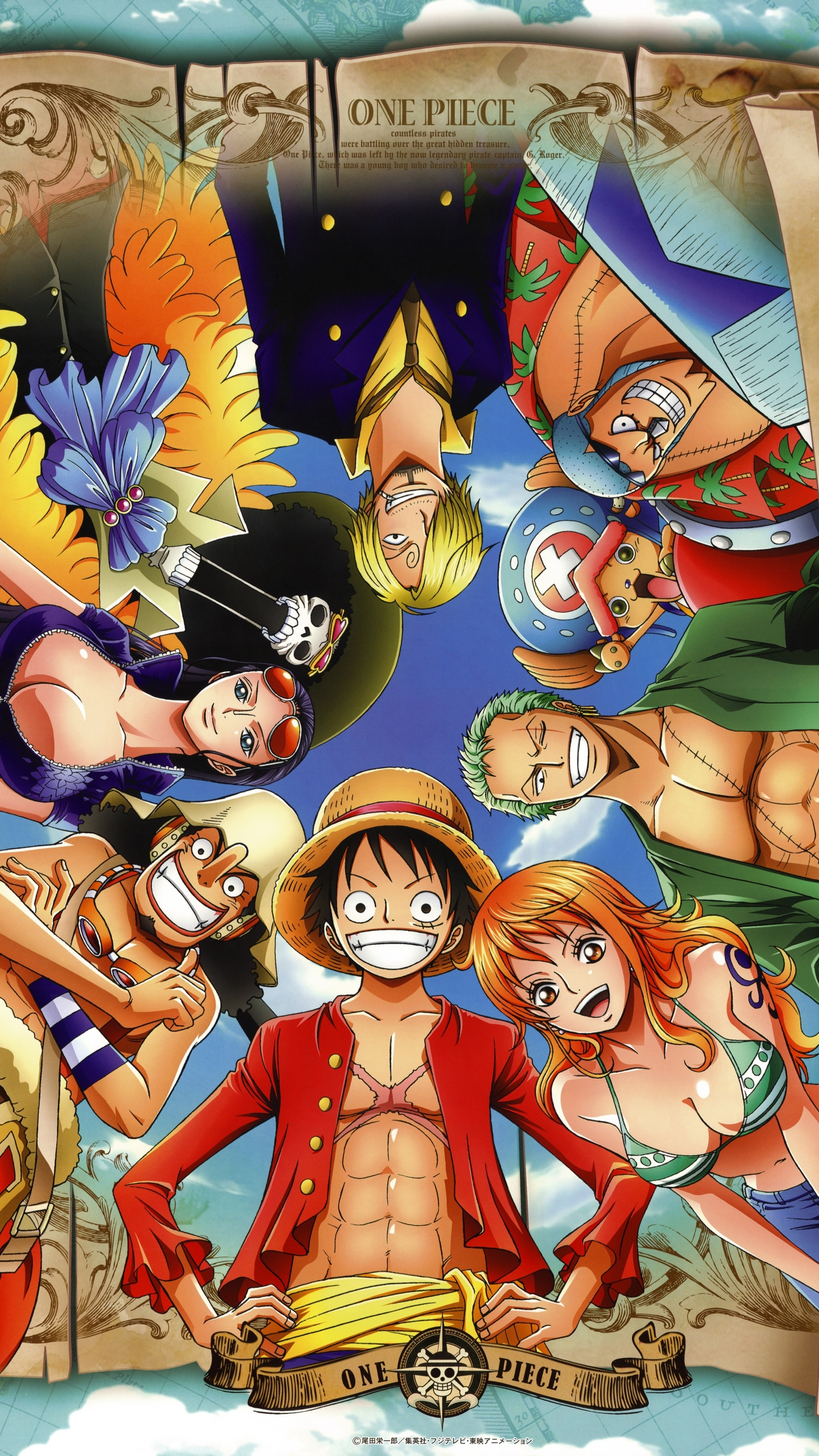 Anime One Piece 1080x1920 Wallpaper Id 656767 Mobile Abyss