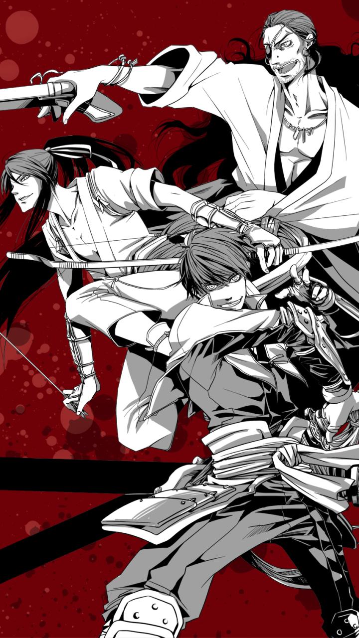 Anime Drifters X Mobile Wallpaper