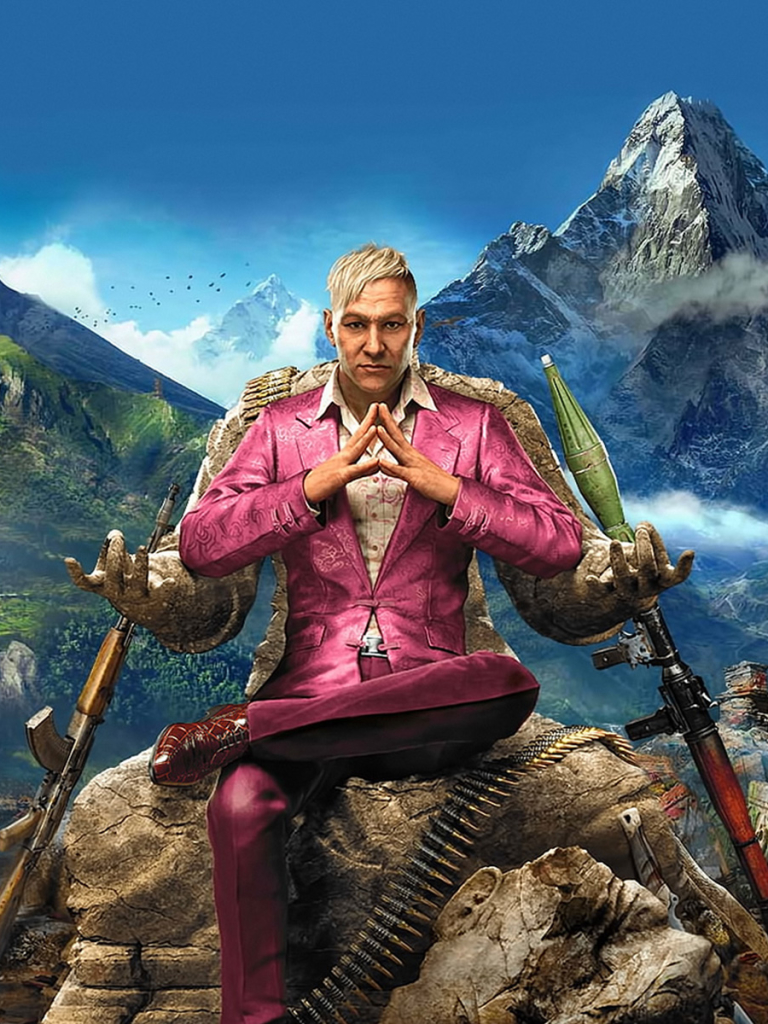 Video Game Far Cry 4 768x1024 Wallpaper Id 660906 Mobile Abyss