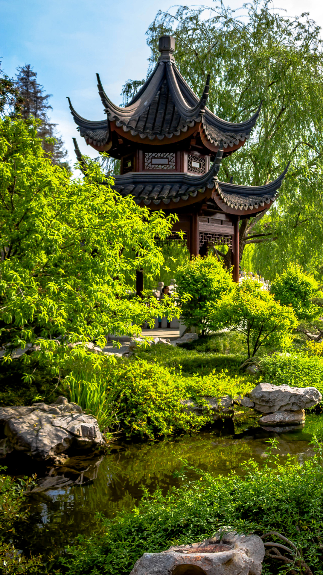 1080x1920 Man MadeJapanese Garden Wallpaper ID 661501
