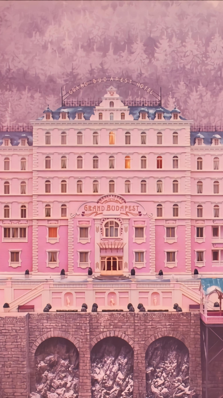 The Grand Budapest Hotel Website