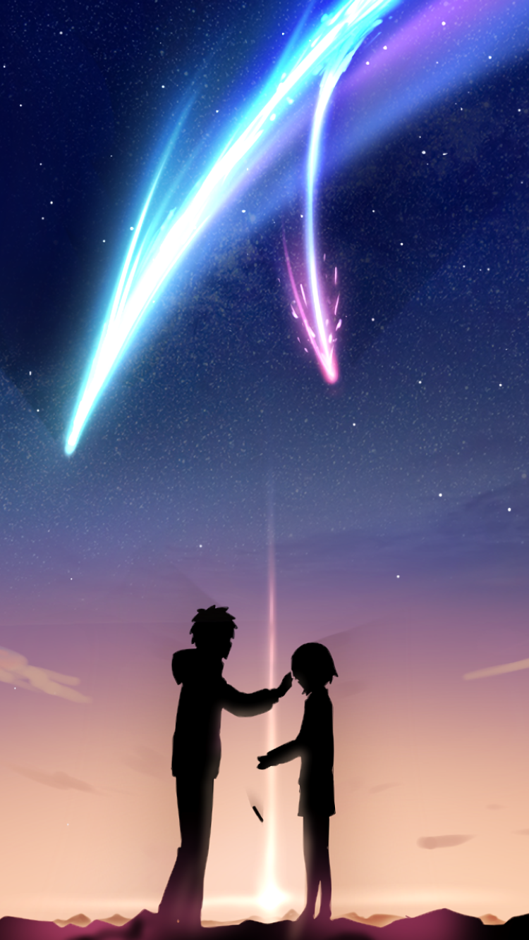 Anime Your Name 750x1334 Wallpaper Id 662153 Mobile Abyss