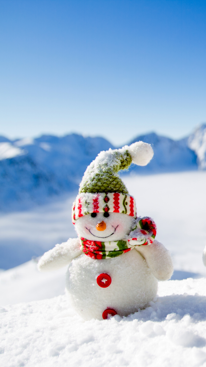 Photography Snowman 720x1280 Wallpaper Id 663766 Mobile Abyss