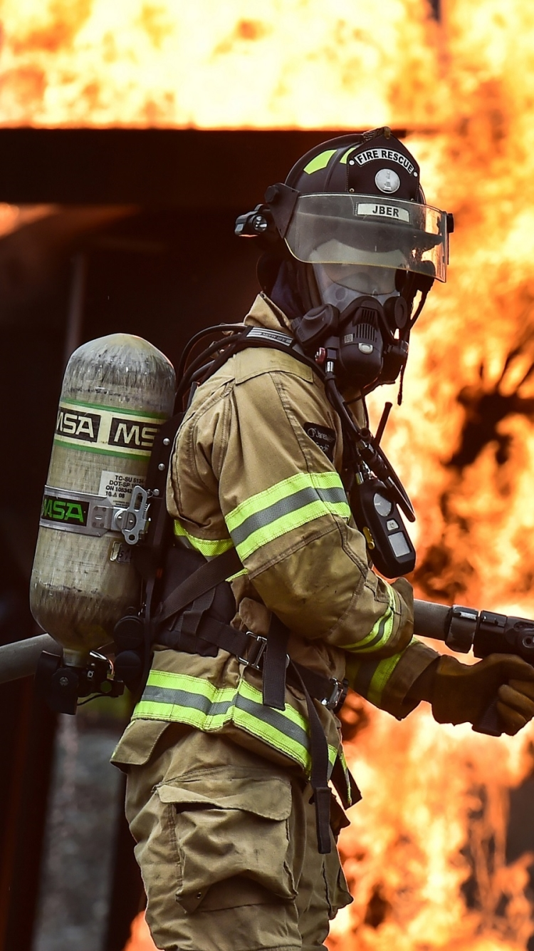 Men Firefighter 750x1334 Wallpaper ID 666742