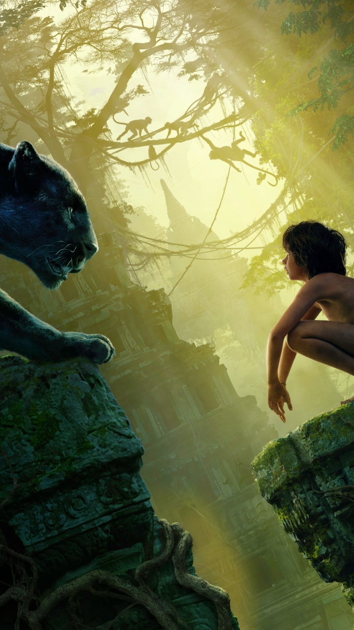 movie/the jungle book (2016) (720x1280) wallpaper id: 667797