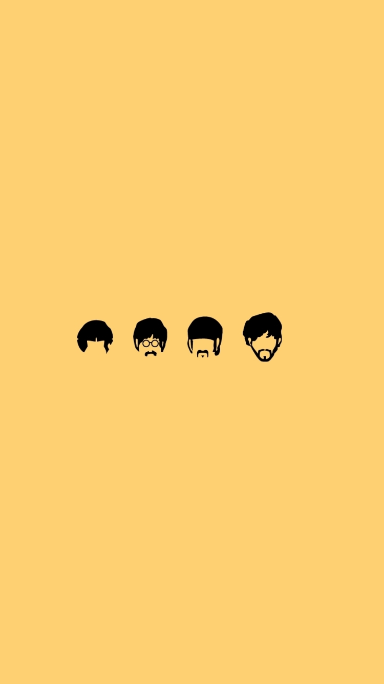 Music The Beatles 750x1334 Mobile Wallpaper
