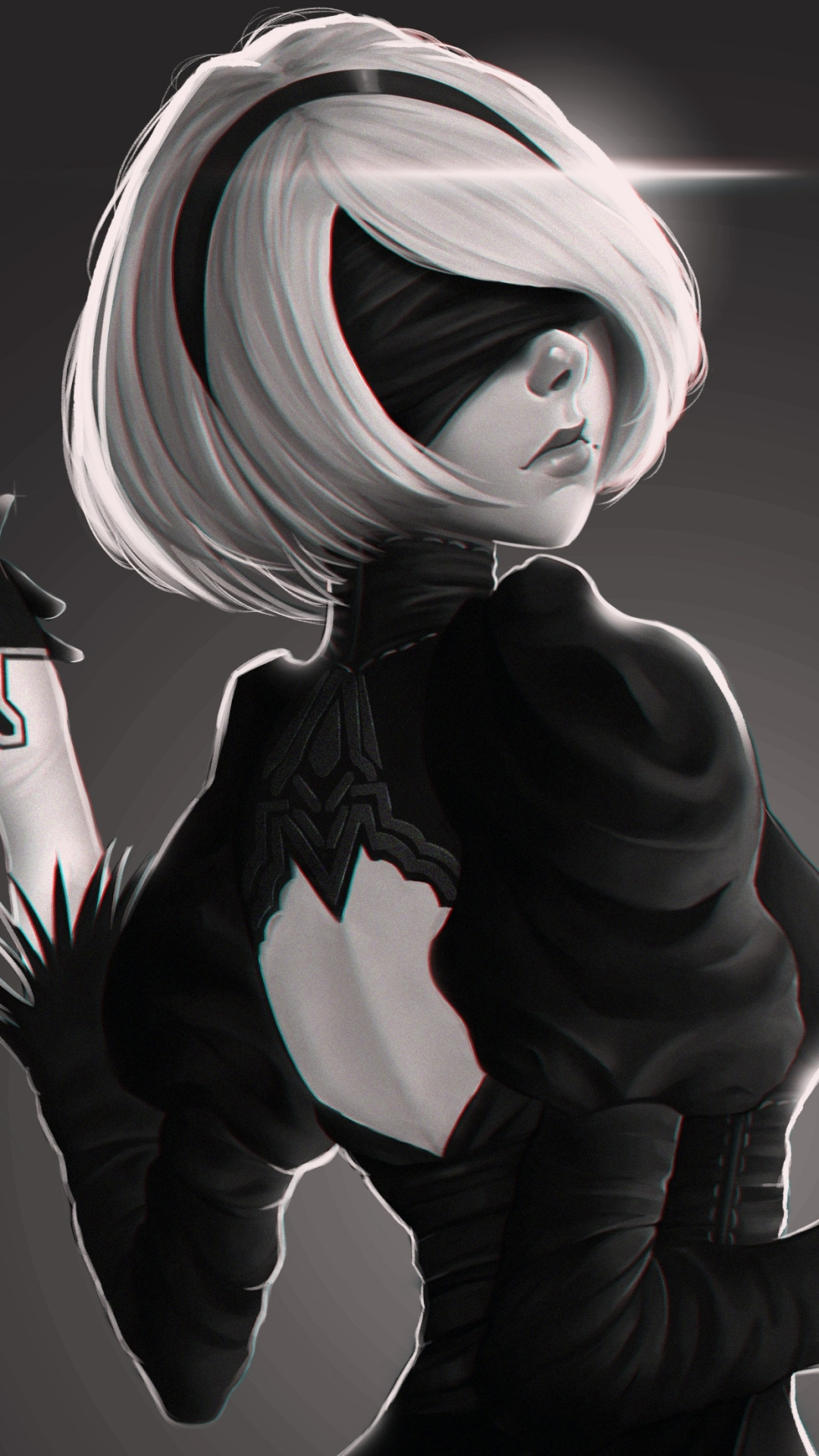 Video Game Nier Automata 1080x1920 Wallpaper Id 671573