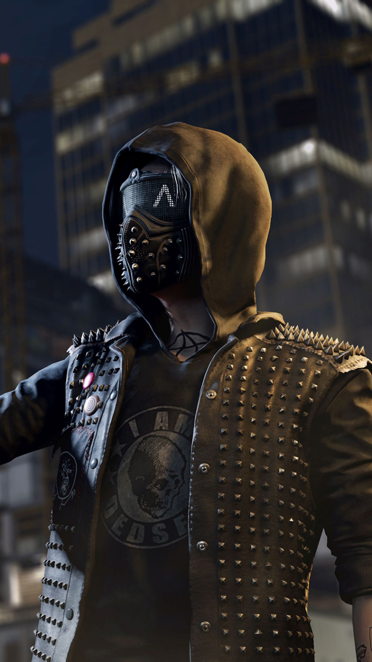 Video Game/Watch Dogs 2 (750x1334) Wallpaper ID: 671659 ...