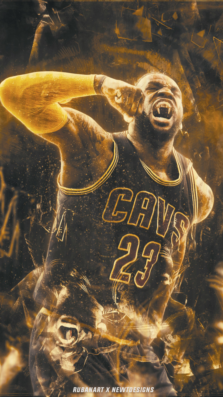 Sports LeBron James 720x1280 Mobile Wallpaper