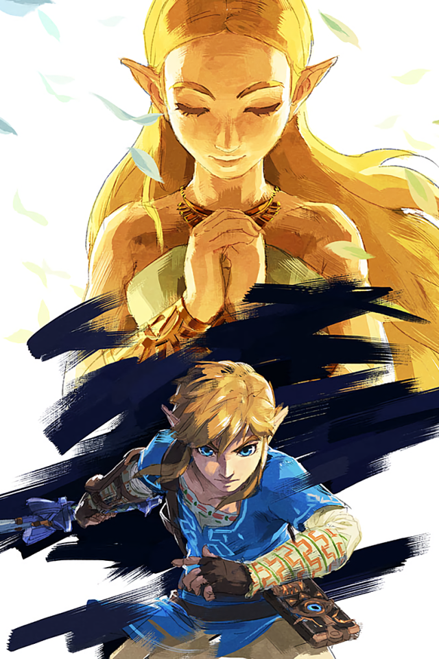 HD Wallpaper Background Image ID 715823 Source 8 The Legend Of Zelda Breath Wild Apple IPhone 4S 640x960