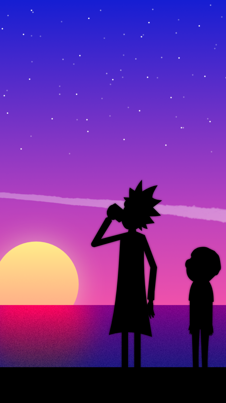 44 Rick And Morty Apple Iphone 5 640x1136 Wallpapers Mobile Abyss