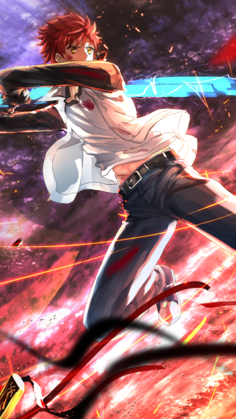 Anime Fate Stay Night Unlimited Blade Works 480x854 Mobile Wallpaper