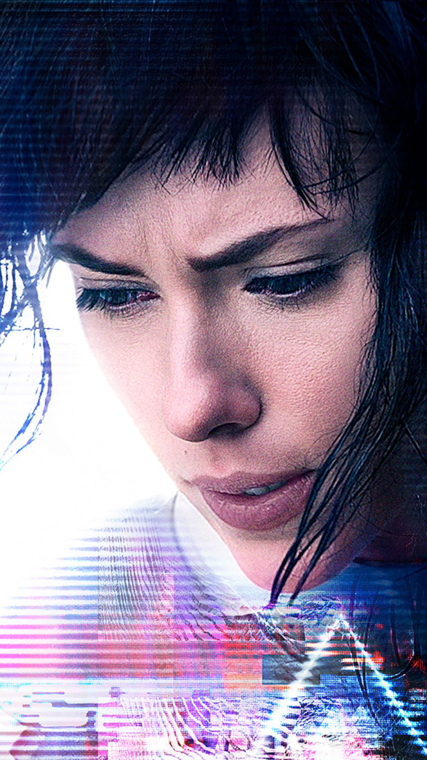 Movie Ghost In The Shell 2017 1440x2560 Wallpaper Id 673183