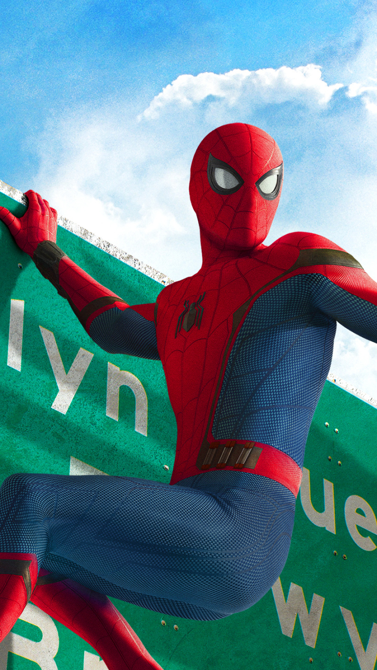 Movie Spider Man Homecoming 750x1334 Wallpaper Id 673804