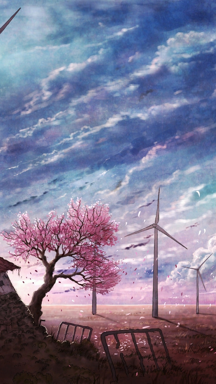 Anime Scenic 750x1334 Wallpaper Id 673877 Mobile Abyss