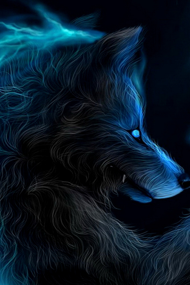 Dark Werewolf 640x960 Wallpaper ID 674351