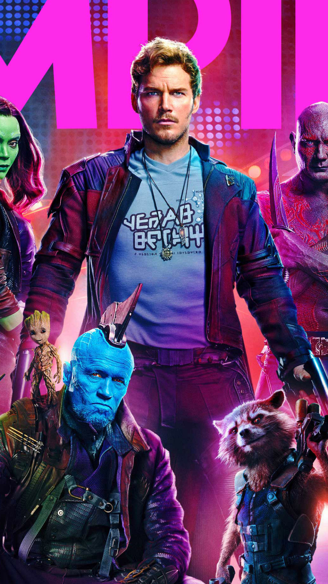 Movieguardians Of The Galaxy Vol 2 1080x1920 Wallpaper Id