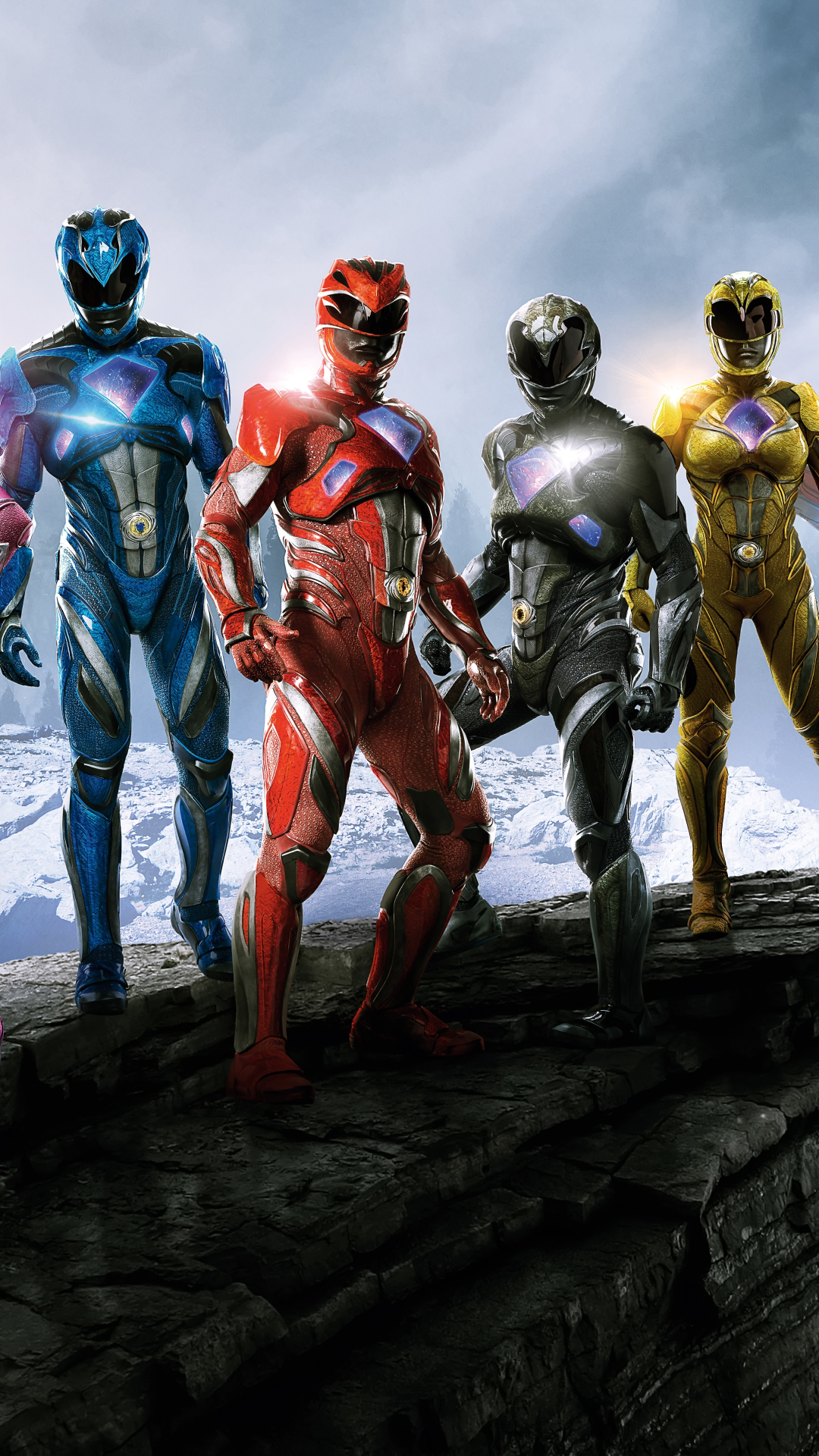 Movie Power Rangers 2017 1080x1920 Wallpaper Id 674974 Mobile