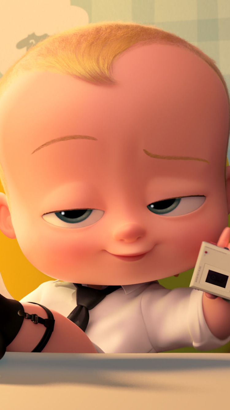 Movie The Boss Baby 750x1334 Mobile Wallpaper