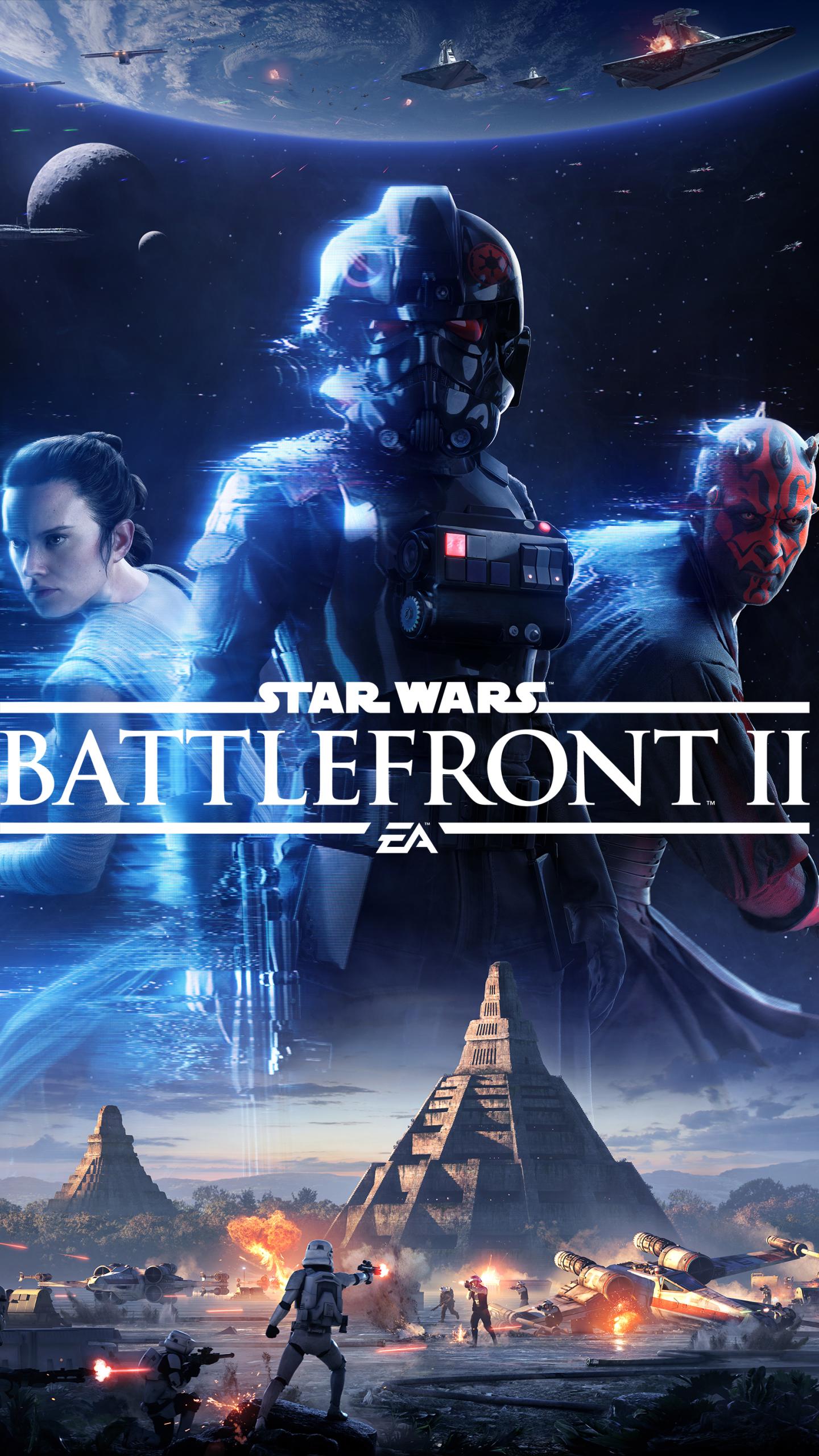 iphone 6 - video game/star wars battlefront ii (2017) - wallpaper