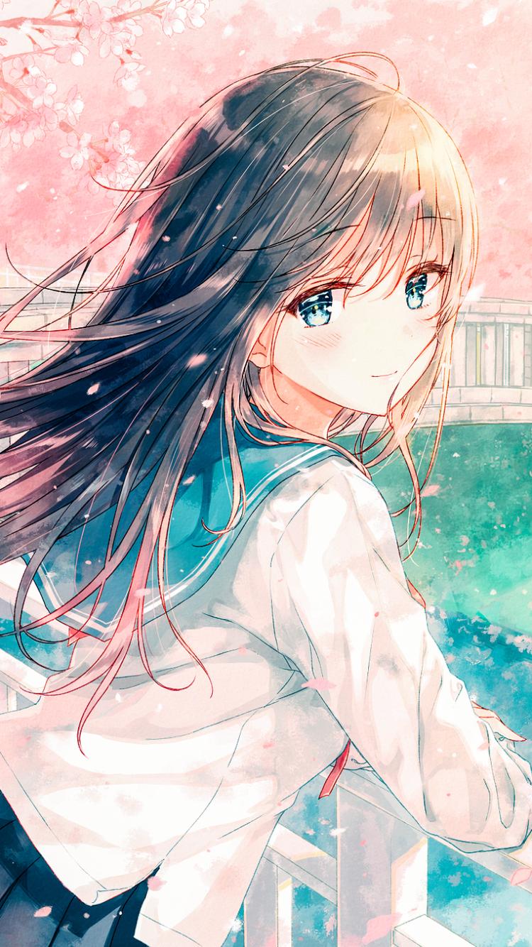 Iphone 5 Anime Original Wallpaper Id 677468