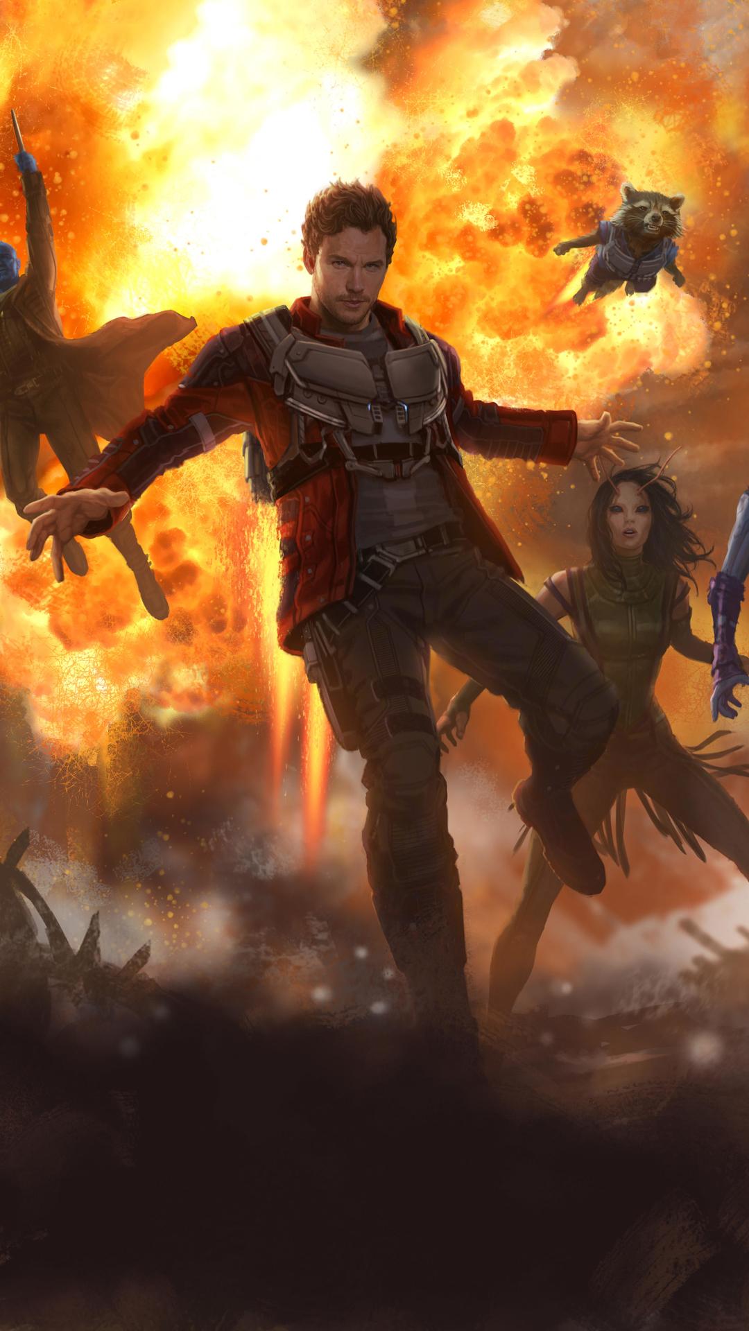 Movie Guardians Of The Galaxy Vol 2 1080x1920 Wallpaper Id