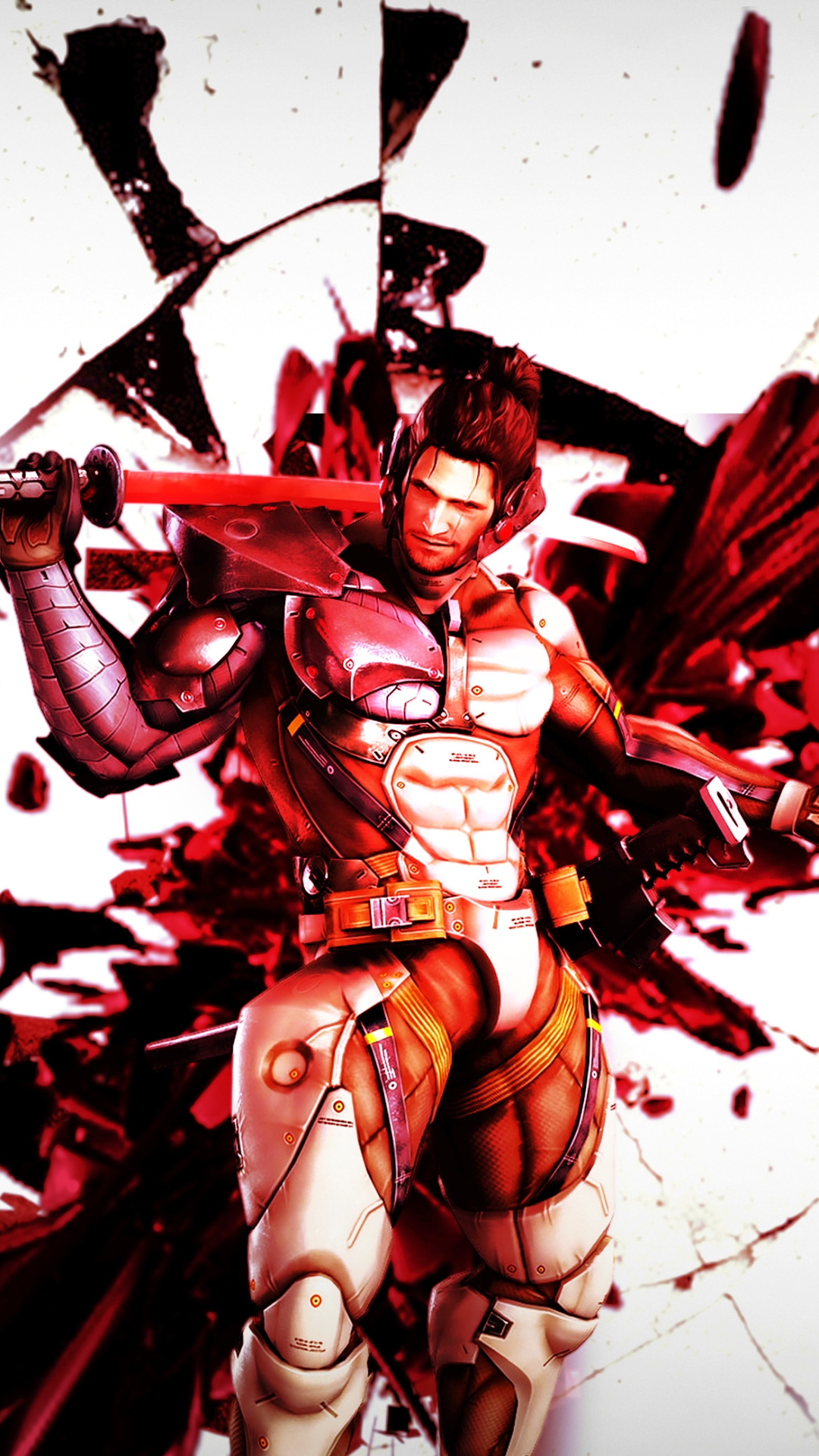 Video Gamemetal Gear Rising 1080x1920 Wallpaper Id 678416