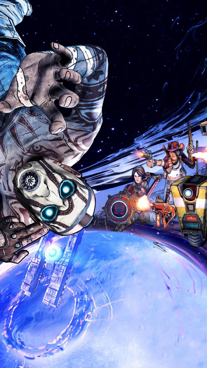 Video Game Borderlands The Pre Sequel 720x1280 Wallpaper Id