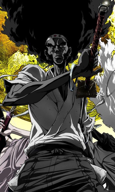 Anime Afro Samurai Resurrection 480x800 Wallpaper Id 679705 Mobile Abyss