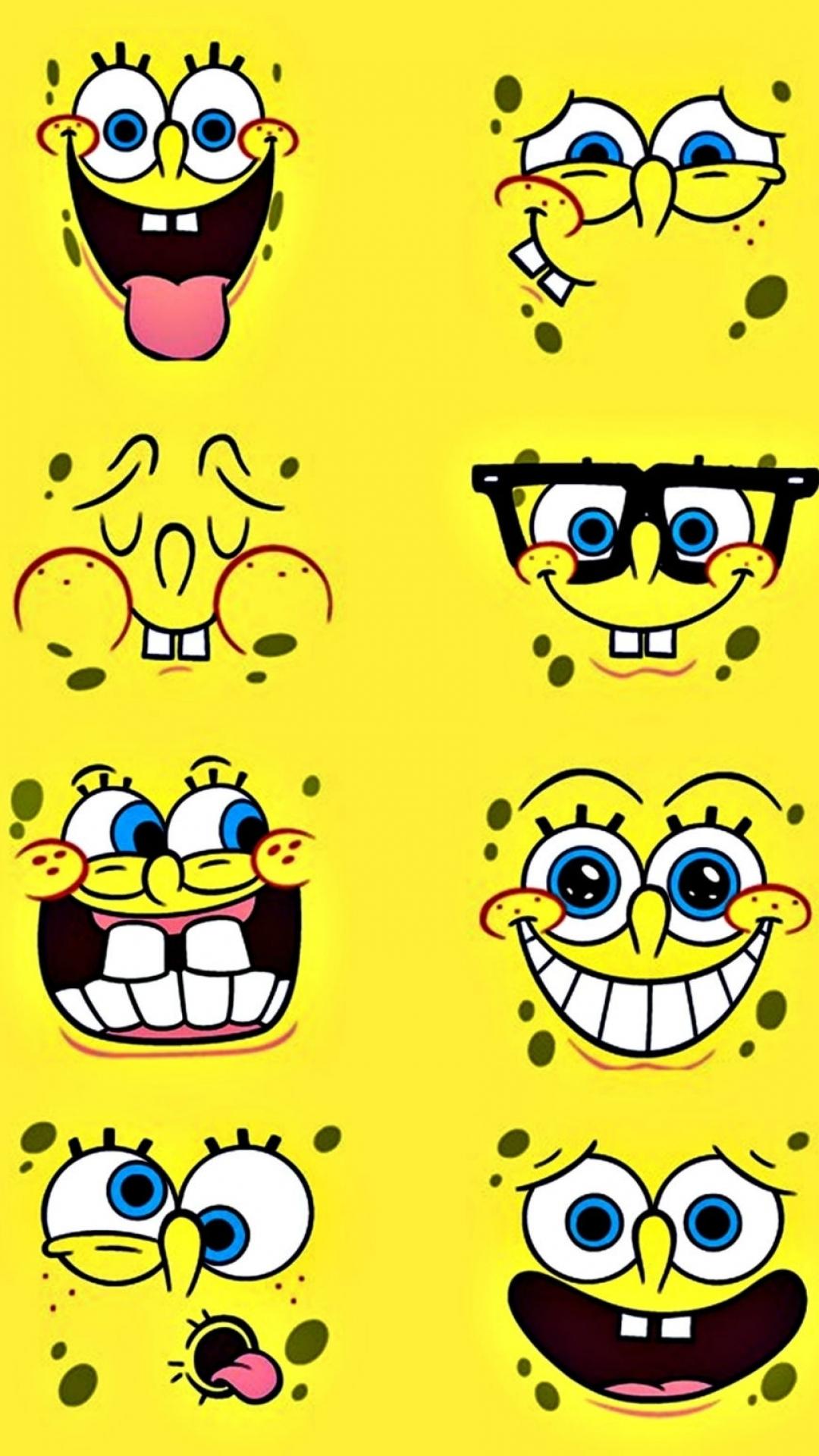 6 Spongebob Squarepants Apple Iphone 7 Plus 1080x1920