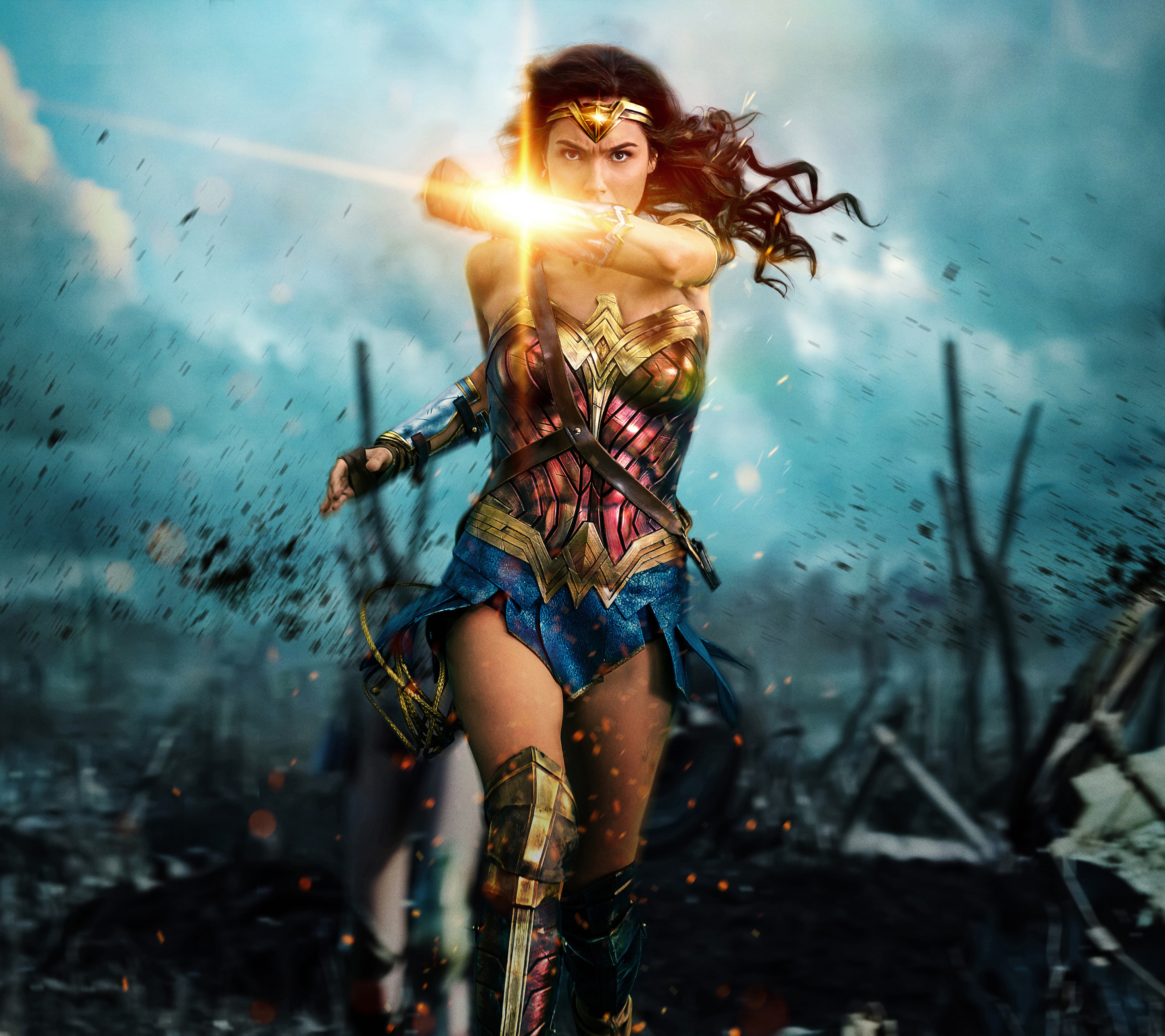 Xperia Z5 MovieWonder Woman Wallpaper ID 681616