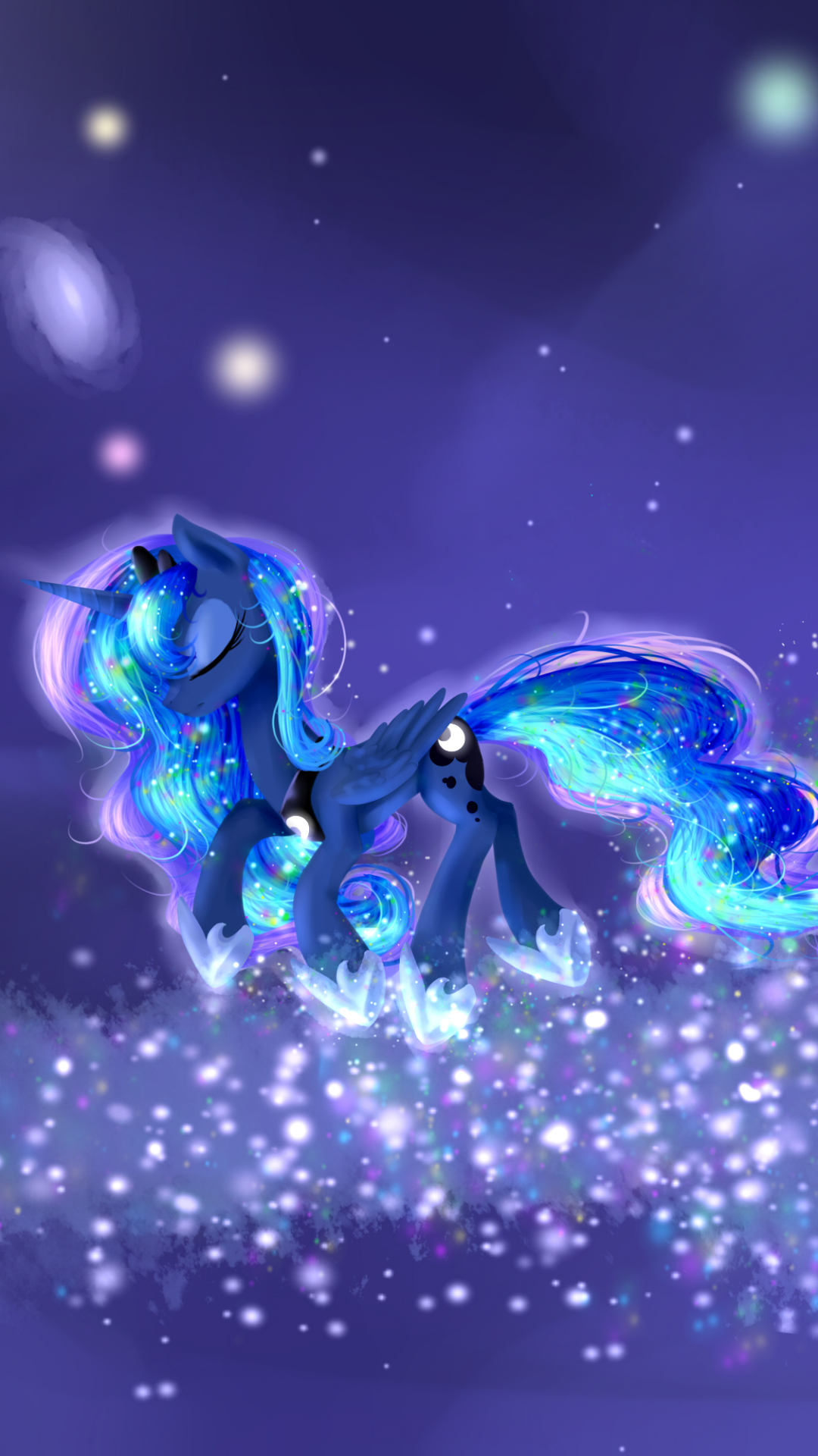 mlp iphone wallpaper luna - davidovic
