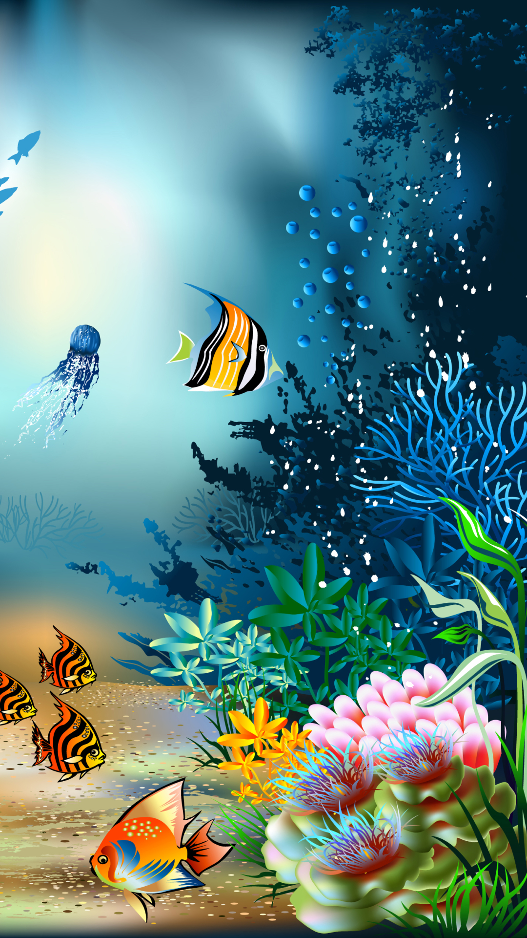 Underwater iphone wallpaper - Wallpaper 682537