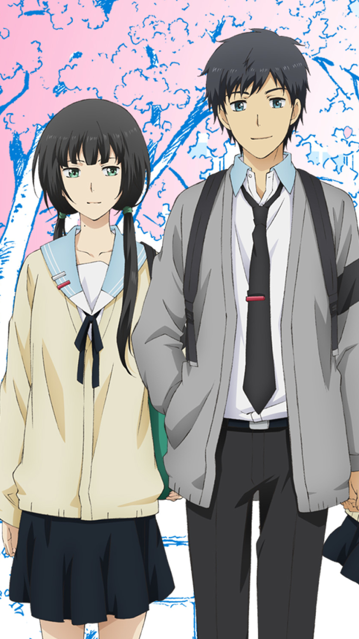 Anime Relife X Mobile Wallpaper