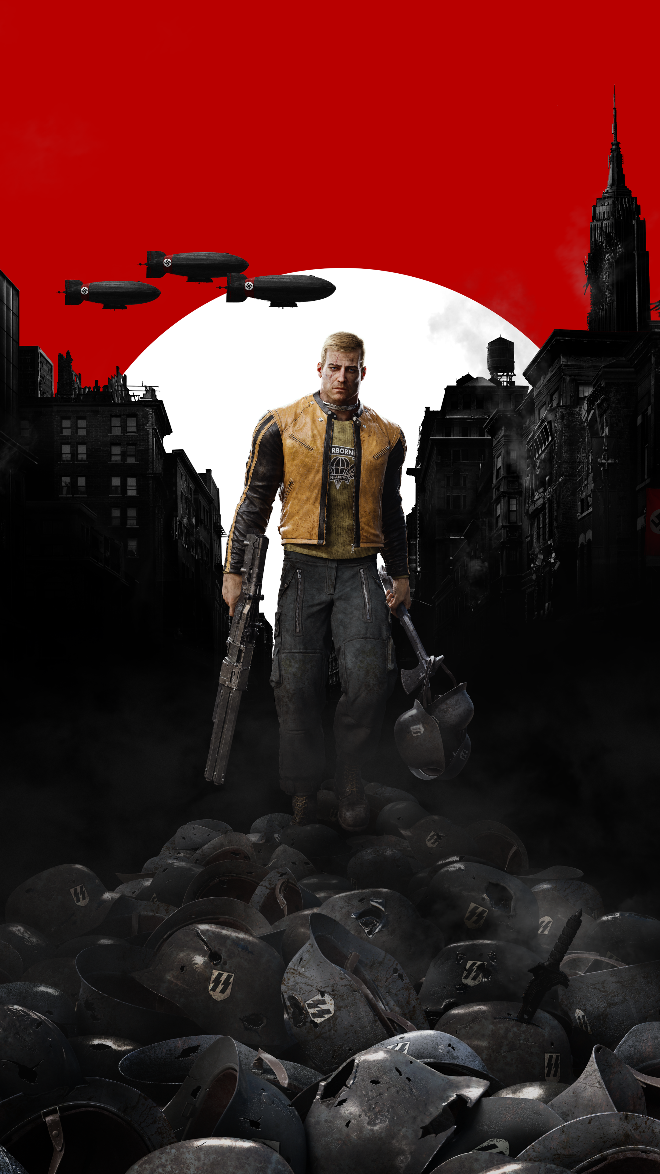 Video Game Wolfenstein Ii The New Colossus 2160x3840 Wallpaper