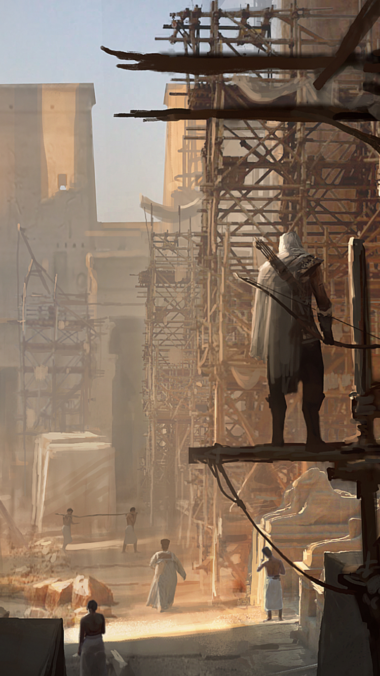 70 Assassin S Creed Origins Apple Iphone 6 750x1334 Wallpapers