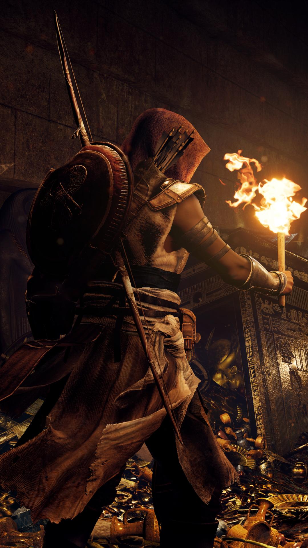 Video Game Assassin S Creed Origins 1080x1920 Wallpaper Id 683421