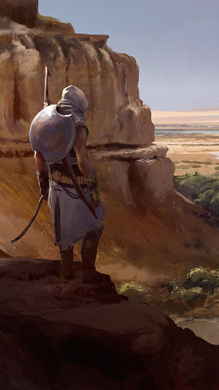 78 Assassin S Creed Origins Apple Iphone 5 640x1136 Wallpapers