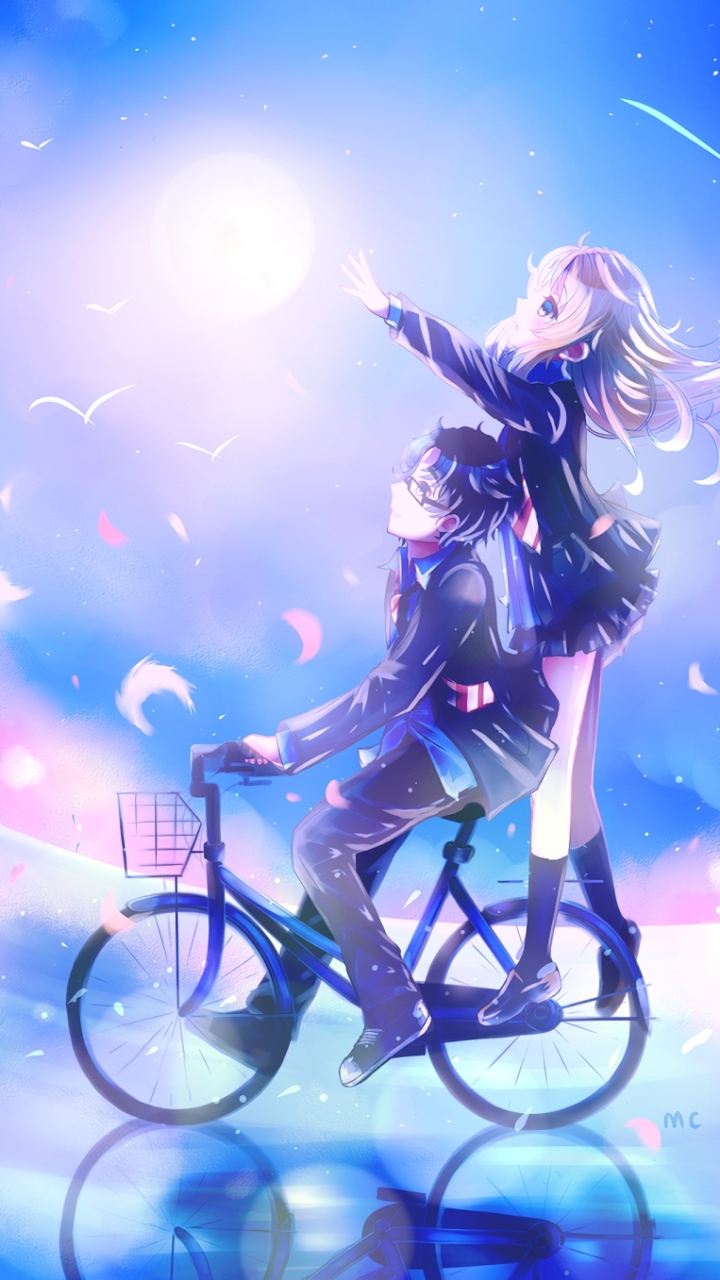 Anime Your Lie In April X Mobile Wallpaper
