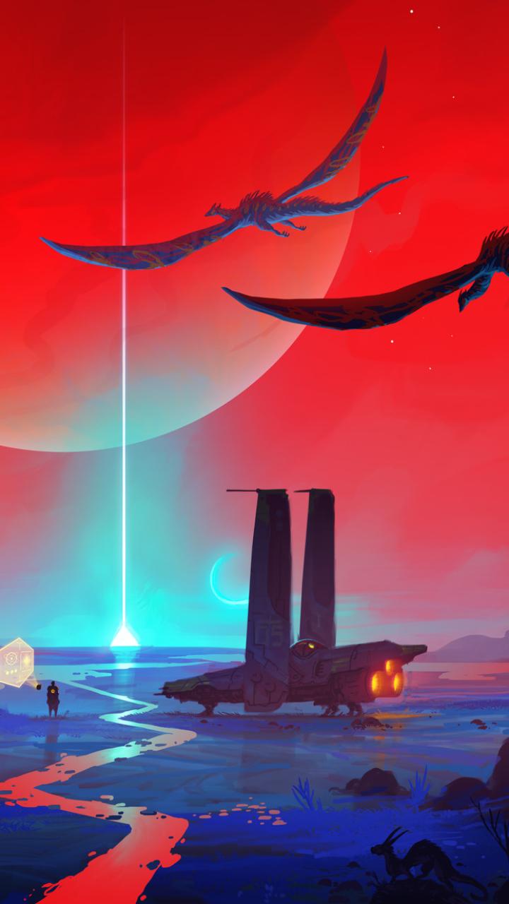Sci Fi Landscape 720x1280 Wallpaper Id 683558 Mobile Abyss
