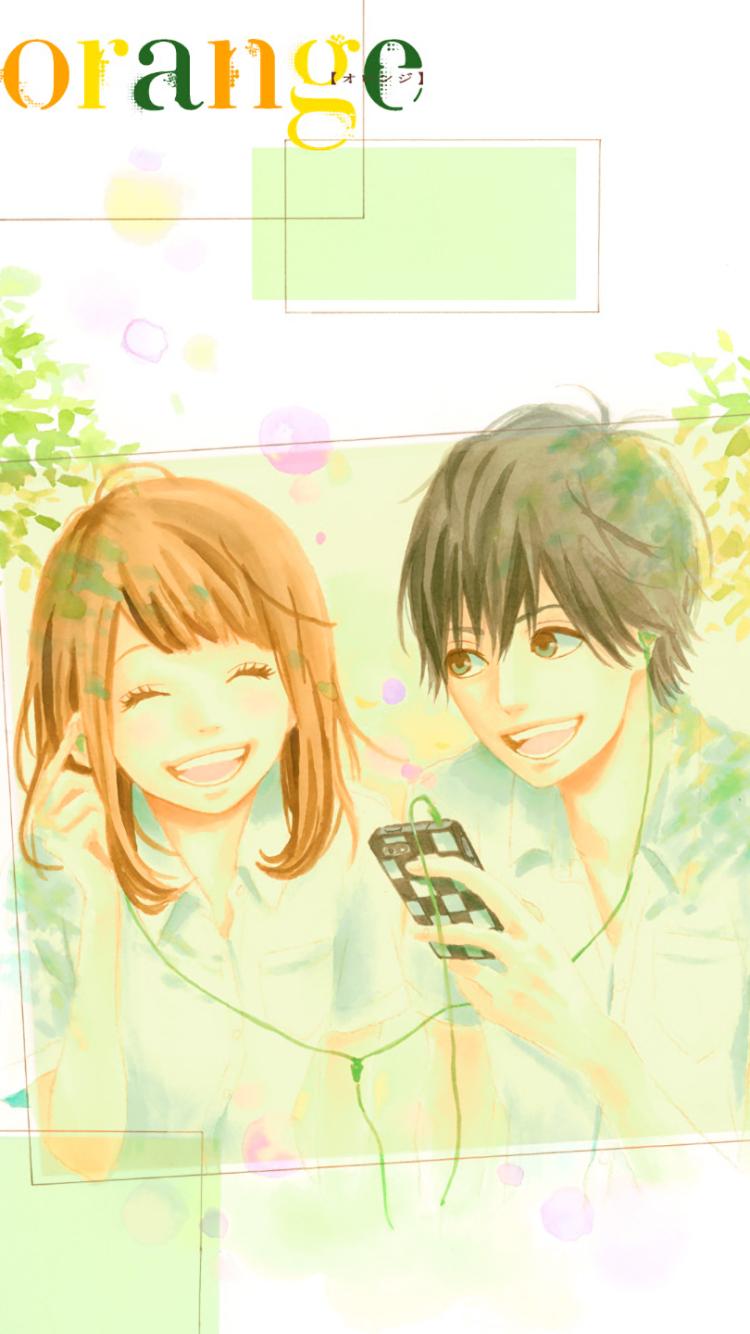 Anime Orange X Mobile Wallpaper