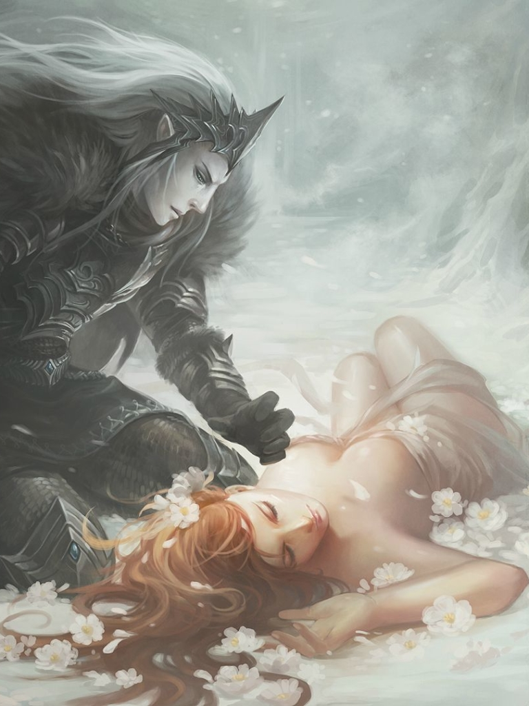 Fantasy Love 768x1024 Wallpaper Id 684756 Mobile Abyss
