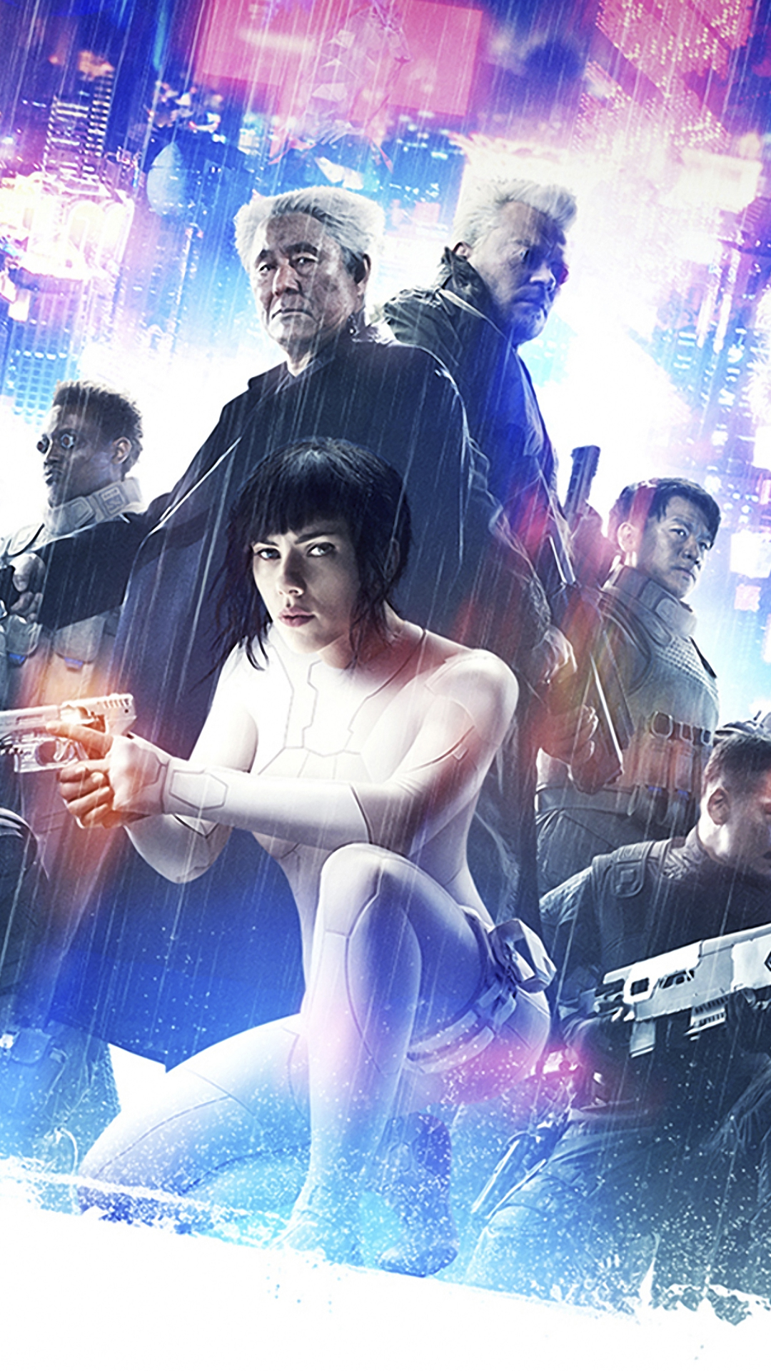 Movie Ghost In The Shell 2017 1080x1920 Wallpaper Id 686347