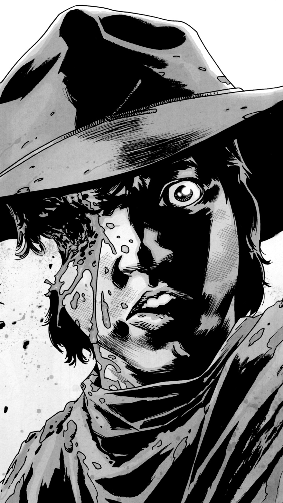 Comics The Walking Dead 1080x1920 Wallpaper Id 687865 Mobile